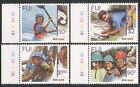 Fiji 2007 SCOUTS 100th/Canoe/Maps/Sport/Scouting/Youth/Leisure 4v set (n17452)