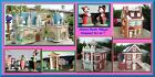 Disney Parks Village 1st Yr Complete NEW set/7 Department Dept. 56 DPV ..