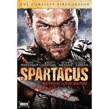 Spartacus: Blood and Sand - The Complete First Season (DVD, 2010, 4-Disc Set)NEW