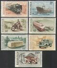 Hungary 1955 Transport/Trains/Ship/Bus/Motorcycle/Lorry/Steam 7v set (n35470)