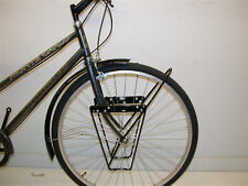 TOURING BIKE/FIXIE CYCLE LOWRIDER FRONT PANNIER BAG LUGGAGE CARRIER RACK ALLOY