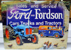 FORD AND FORDSON TRACTOR AND VAN FARM METAL WALL SIGN