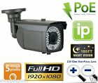 5.0 Megapixel Network PoE HD 1080P 2.8-12mm Varifocal Onvif IP Security Camera