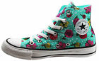 Converse Chuck Taylor All Star Womens Hi Top Trainers Flowers 547263C WH