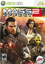 MASS EFFECT 2 MICROSOFT XBOX 360 GAME COMPLETE