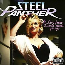 Live from Lexxi's Mom's Garage - Steel Panther New & Sealed CD-JEWEL CASE Free S