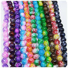 30 pcs 8mm Round Chic Glass Loose Spacer Bead Pick 12 Colors -1 Or Mixed DIY G02