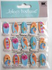JOLEE'S BOUTIQUE STICKERS - SURF BOARD REPEATS