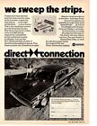 1967-1968-1969 PLYMOUTH BARRACUDA PRO STOCK BOB LAMBECK ~ DIRECT CONNECTION AD