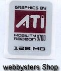 Graphics by ATI 9700 mobile Aufkleber Sticker