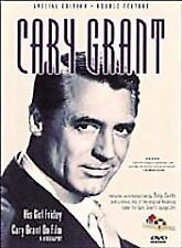 His Girl Friday/Cary Grant On Film (DVD, 1999, Double Feature) ~ Like New ~