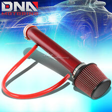 FOR 00-04 FORD FOCUS ZX3 SVT ZETEC RED SHORT RAM AIR INTAKE+FILTER INDUCTION KIT