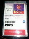 LONDON OLYMPIC AND PARALYMPIC 2012 GAMES MAKER OFFICIAL UPGRADE CARD