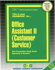 NEW Office Assistant II (Customer Service) by Jack Rudman Spiral Book (English)