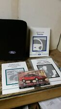 2001 Ford Taurus Owners Manual by Ford Motor Co.