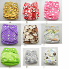 One-size Soft minky Baby Re-usable cloth diaper nappy +one insert you pick