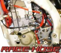 KAWASAKI KXF 250, 450 RED CARB FUEL WORKS HOSE KIT
