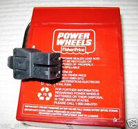 00801-0712 Genuine Power Wheels by Fisher Price Red Battery 6 Volt 008010712