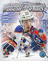 Ryan Nugent-Hopkins Edmonton Oilers NHL Composite 8x10 Photo - Combined Shipping