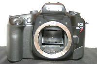Canon EOS ELAN 7 35mm SLR Film Camera Body/Bacup
