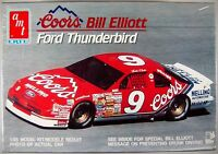 BILL ELLIOTT 1990 Coors #9 FORD THUNDERBIRD AMT Ertl 1:25 Model Kit #6962
