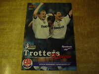 1995/96 PREMIERSHIP - BOLTON WANDERERS v MANCHESTER CITY