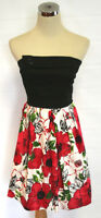 NWT WINDSOR Black / Red /White Junior Party Day Dress 9