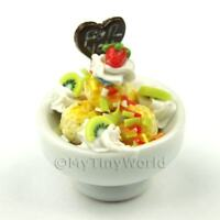 1:12th Ice Cream Sundae Doll House Miniature Food (IB6)