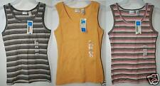 NWT COVINGTON Basic Ribbed Stretch shirt Tank Top 6/8