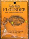 (12) RIGS - FLOUNDER LONG BEAK HOOK CORN BEAD RIG #R153