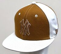 NEW ERA 59FIFTY LEATHER/WOOL NEW YORK YANKEES WHEAT