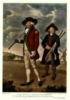 GOLF ANTIQUE COLOR SPORTING PRINT, SOCIETY OF COFFERS
