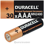 """""""30x DURACELL MICRO AAA MN2400 LR03 Batterie OEM"""