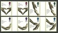 1998 Health Gutter pairs 2046 to 2049 Mint nh