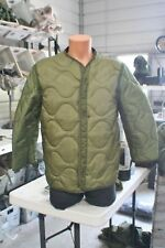 MILITARY COLD WEATHER M-65 JACKET / COAT LINERS 3 SIZES START @ $1.99  SOME NEW