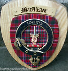 Scottish Gifts MacAlister Family Clan Crest Wall Plaque