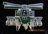 AUTHENTIC AH-64 APACHE US  GREEN ARMY HAT PIN IRAQ WOW L@@K!