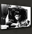 SCARFACE ICONIC MOVIE AL PACINO CANVAS PRINT POP ART MANY SIZES TO CHOOSE FROM