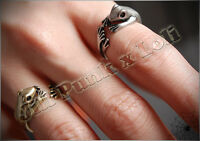Lolita Lemony Snicket's Unfortunate Events adjustable prince Frog ring JN6064