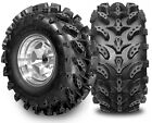SET OF 2 25X12-9 SWAMP LITE 6 PLY ATV TIRES MUD 25 12 9 ATV AGGRESSIVE TREAD