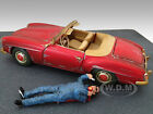 MECHANIC PAUL FIGURE FOR 1:18 SCALE DIECAST MODEL CARS BY AMERICAN DIORAMA 23791