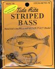 (12) 2/pk RIGS - STRIPED BASS CIRCLE HOOK RIG #R795-70