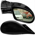 M3 Black Wing Door Mirrors Left & Right Manual Vauxhall Corsa C 2000 To 2006