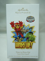 2011 Hallmark Keepsake Ornament Time To Hero Up Super Hero Squad