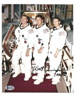 WALTER CUNNINGHAM Signed/Autographed APOLLO 7 CREW Photo NASA Astronaut w/COA