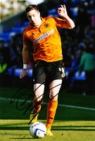 Wolverhampton Wanderers F.C Stephen Ward Hand Signed Photo 12x8 Wolves 1.