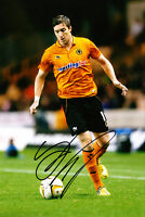 Wolverhampton Wanderers F.C Stephen Ward Hand Signed Photo 12x8 Wolves 2.