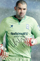 Birmingham City F.C Boaz Myhill Hand Signed 11/12 Photo 12x8 3.