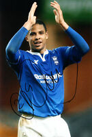 Birmingham City F.C Curtis Davies Hand Signed 11/12 Photo 12x8 2.