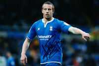 Birmingham City F.C Adam Rooney Hand Signed 11/12 Photo 12x8 2.
